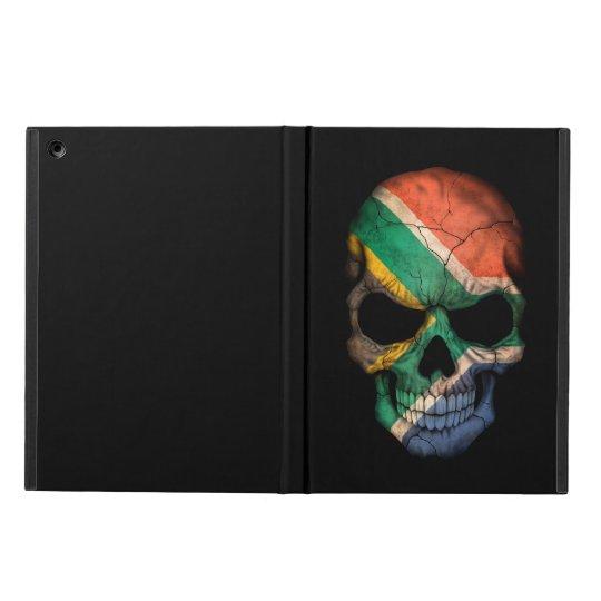 South African Flag Skull on Black Cover For