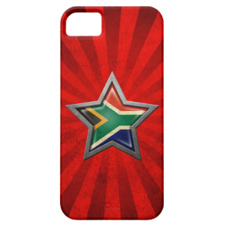 South African Flag Star with Rays of Light Case For The iPhone 5