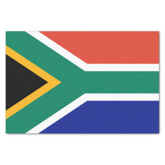 South African Flag Tissue Paper