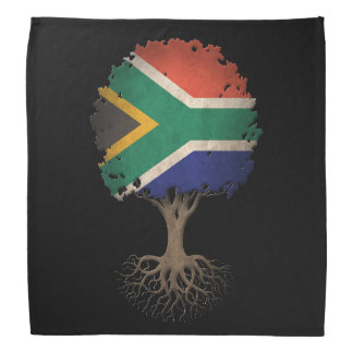 South African Flag Tree of Life Customizable Bandana