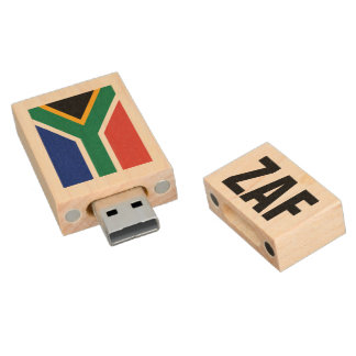 South African flag USB pendrive flash drive Wood USB 2.0 Flash Drive