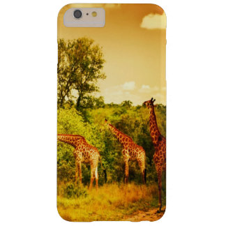South African giraffes Barely There iPhone 6 Plus Case