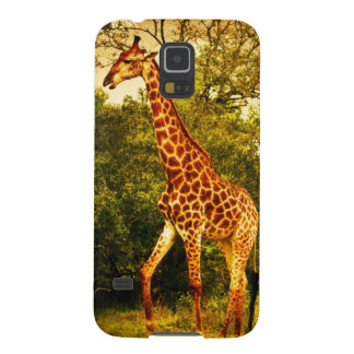 South African giraffes Galaxy S5 Cases