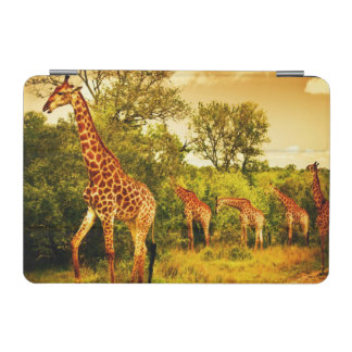 South African giraffes iPad Mini Cover