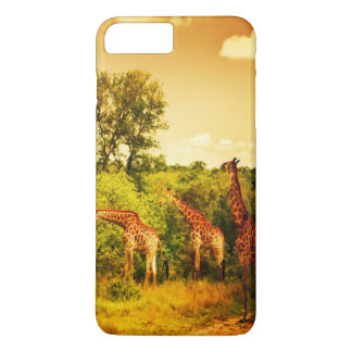 South African giraffes iPhone 7 Plus Case