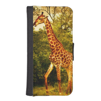 South African giraffes iPhone SE/5/5s Wallet Case