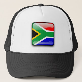South African glossy flag Trucker Hat