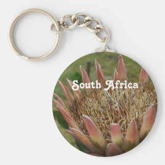South African King Protea Key Chains