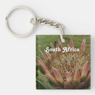 South African King Protea Key Chain