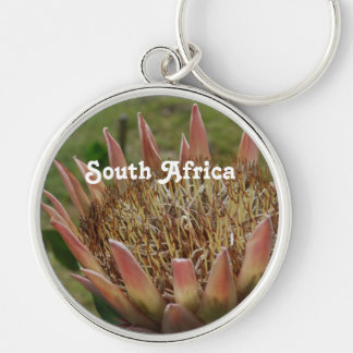 South African King Protea Keychains