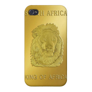 South African Krugerrand LionHead iphone case Cases For iPhone 4