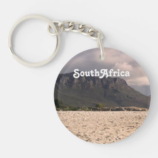 South African Landscape Single-Sided Round Acrylic Keychain