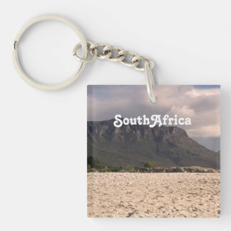 South African Landscape Acrylic Keychain