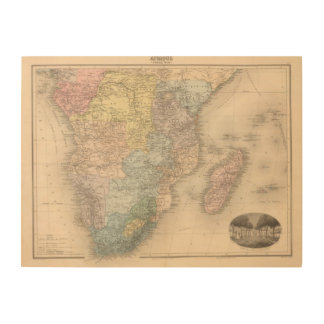 South African Party Wood Wall Decor