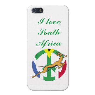 South African peace flag iPhone 5 Cases