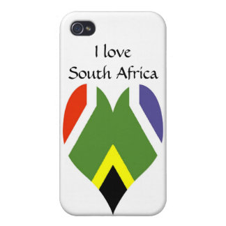 South African peace flag iPhone 4/4S Cover