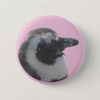 South African Penguin Customizable Button