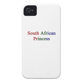South African Princess Case-Mate iPhone 4 Cases