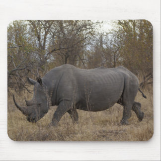 South African Rhinoceros Mouse Mat