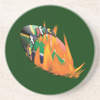 South African rugby bokke fans Coaster