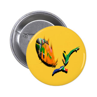 South African rugby supporters & fans badges Pinback Buttons