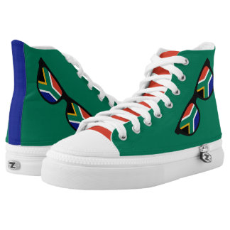 South African Shades custom sneakers