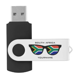 South African Shades custom USB drives
