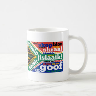 South African slang and colloquialism Basic White Mug