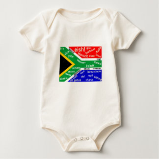 South African Slang Baby Creeper - Customizable