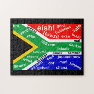 South African Slang Jigsaw Puzzle