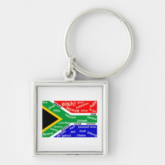 South African Slang Key Chain - Customisable