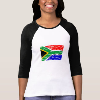 South African Slang T-Shirt - Customizable