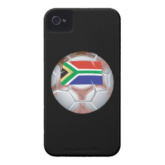 South African Soccer Ball iPhone 4 Case-Mate Cases