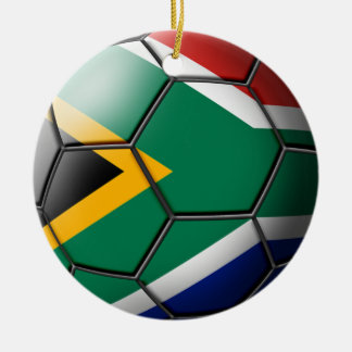 South African Soccer Ornament