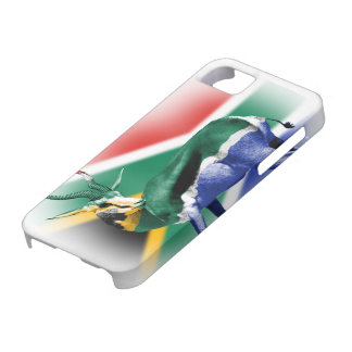 South African Springbock Flag iPhone5 Vibe cover iPhone 5 Cover