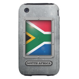 South African Steel Tough iPhone 3 Case