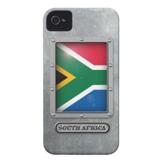 South African Steel Case-Mate iPhone 4 Case