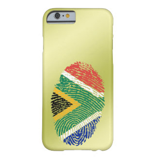 South African touch fingerprint flag Barely There iPhone 6 Case