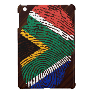 South African touch fingerprint flag iPad Mini Cover