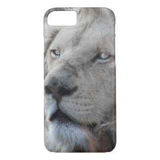 South African White Lion close up iPhone 7 Case