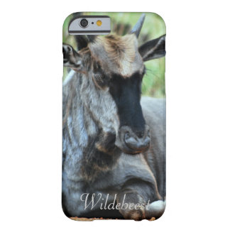 South African Wildebeest Barely There iPhone 6 Case