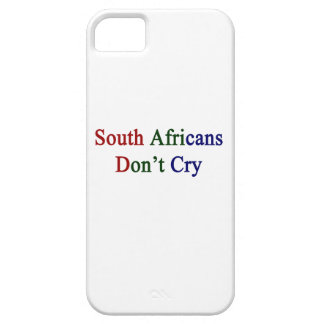 South Africans Don t Cry iPhone 5 Cases