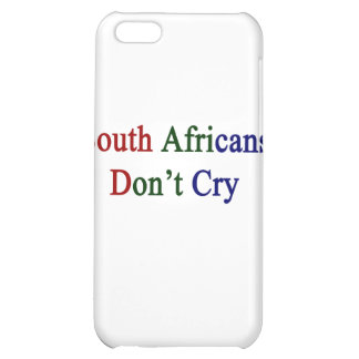 South Africans Don't Cry iPhone 5C Covers