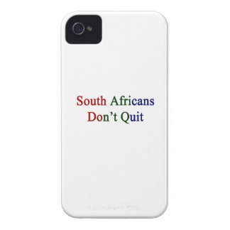 South Africans Don't Quit iPhone 4 Case-Mate Cases