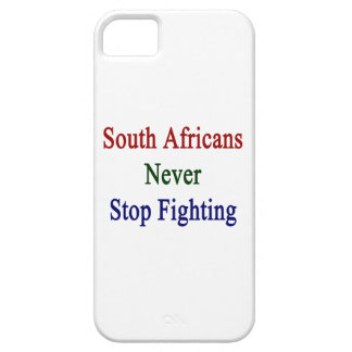 South Africans Never Stop Fighting iPhone 5 Covers