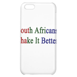 South Africans Shake It Better Cover For iPhone 5C