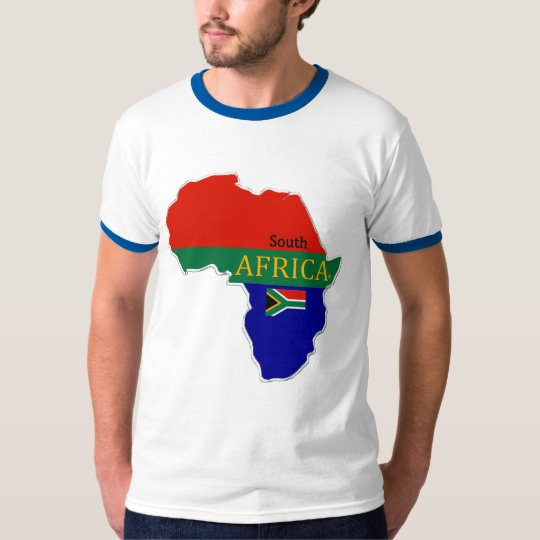 South Africa's Map Designer#2 Name Brand Shirts