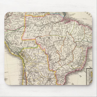 South America 10 Mouse Mat