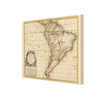 South America 11 Stretched Canvas Print
