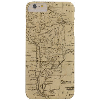 South America 12 Barely There iPhone 6 Plus Case